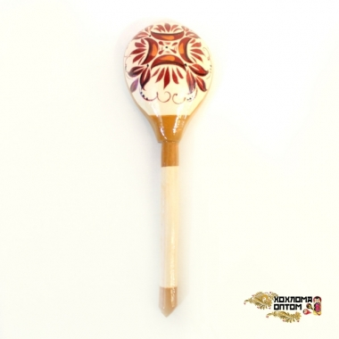 """Wooden spoon (sample with """"Altai"""" painting)"""