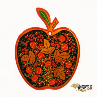 "Cutting board ""Khokhloma Apple"""