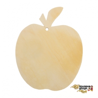 "Pastry board without painting ""Apple"""
