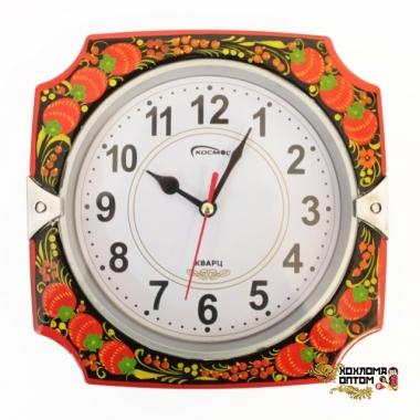 """Clock """"Khokhloma"""""""