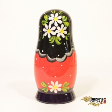 "Matryoshka ""Round loaf"" (5 dolls)"