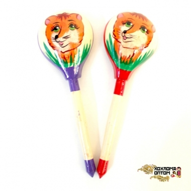 "Wooden tablespoon  ""Foxie"""