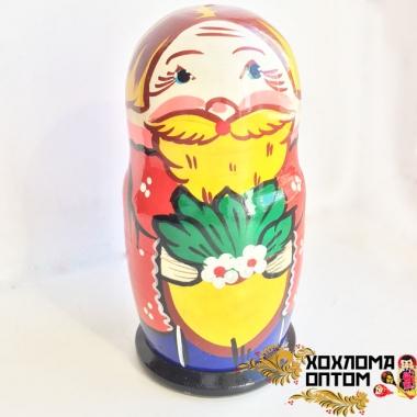 """Matryoshka """"The Gigantic Turnip"""" (6/5 dolls)"""