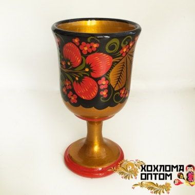 "Wineglass ""Khokhloma"""