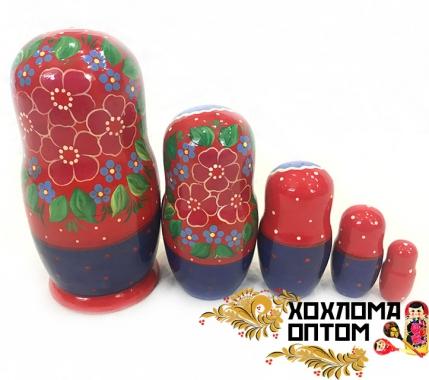 """Матрешка """"Аленький цветочек"""" 5 кукольная"""