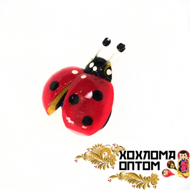 "Magnet ""Ladybird"" with wings"