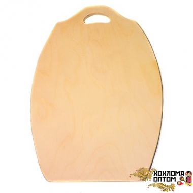 "Pastry board ""Big oval"" without painting"