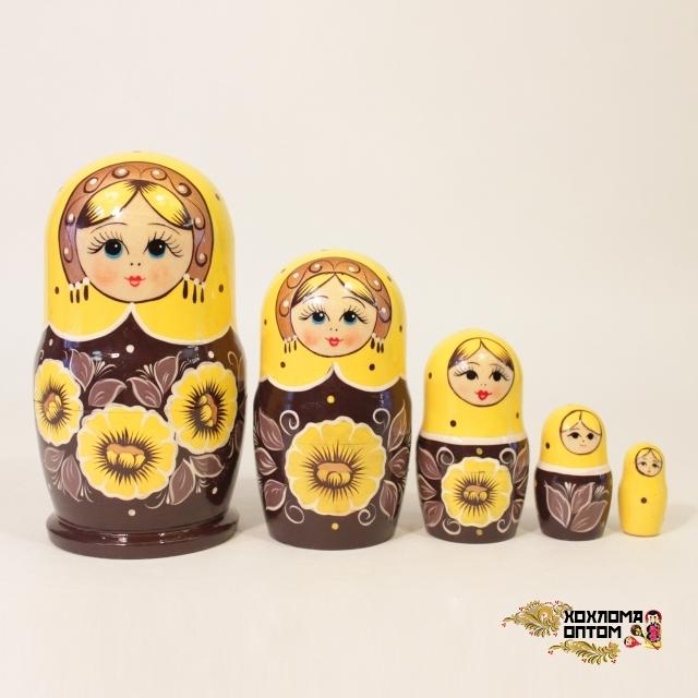 """Матрешка """"Полюшко"""" 5 кукольная"""