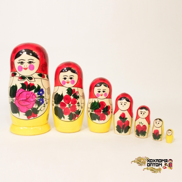 Matryoshka traditional (7 dolls)