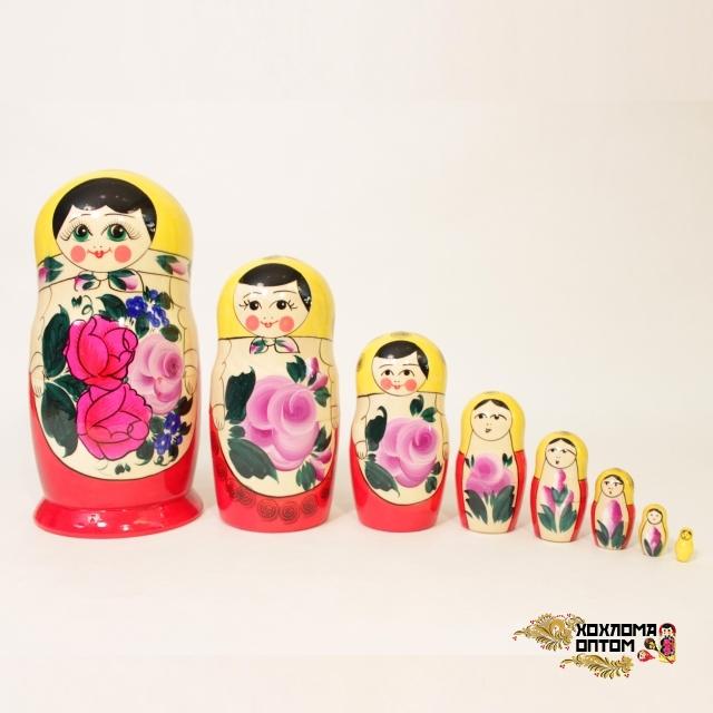 Matryoshka traditional (8 dolls)