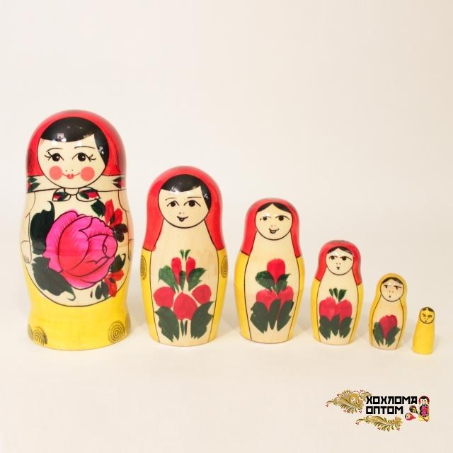 Matryoshka traditional (6 dolls)