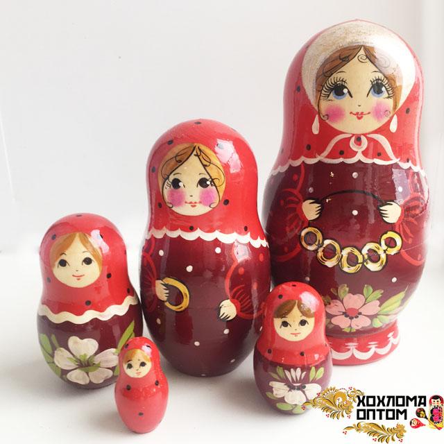 """Матрешка """"Баранки"""" 5 кукольная"""
