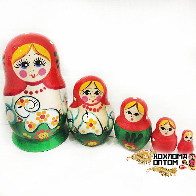"""Matryoshka """"Lamb"""" (5 dolls)"""