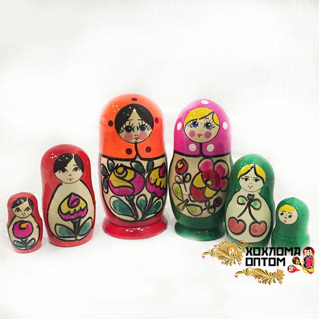 """Matryoshka """"Maidan Tradition"""" (3 dolls)"""