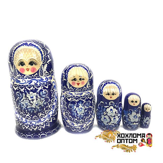"Matryoshka ""New pearl"" (5 dolls)"