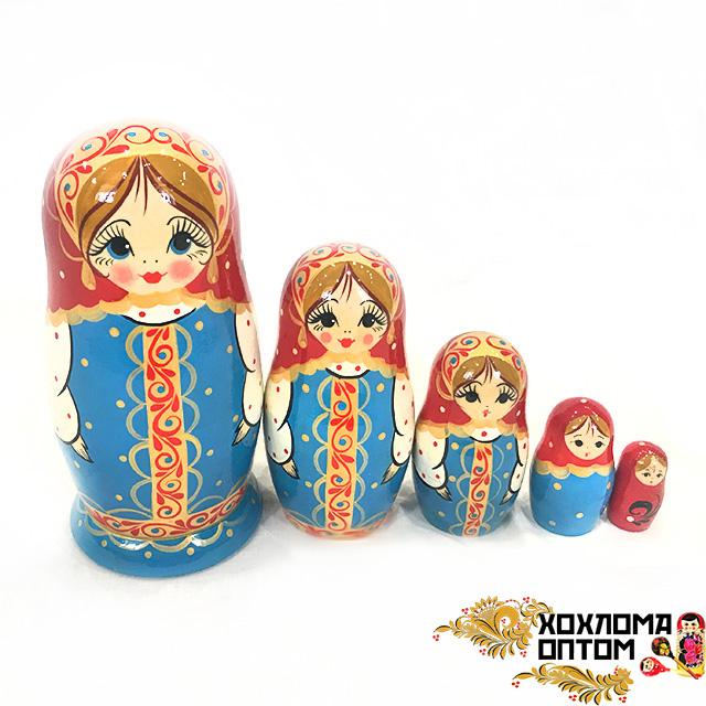 "Matryoshka ""Sundress"" (5 dolls)"