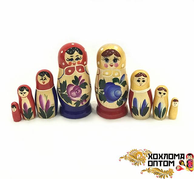 "Matryoshka ""Semenov gouache"" (4 dolls)"