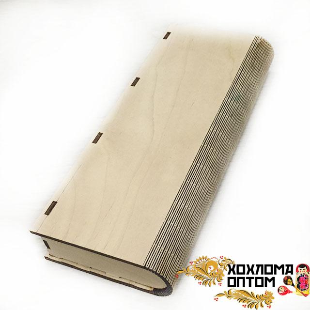 Шкатулка - книжка без росписи малая