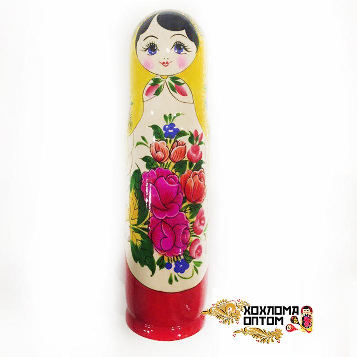 """Matryoshka traditional """"Bottle case 0,5"""""""