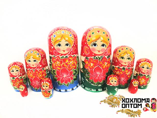 """Матрешка """"Ярмарочная"""" 5 кукольная"""