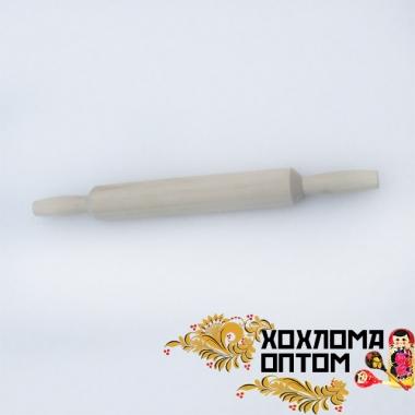 Скалка с ручками без росписи