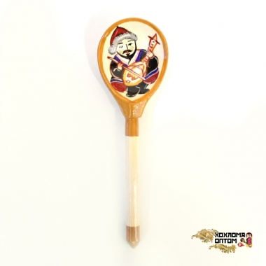"Wooden spoon (sample with ""Altai"" painting)"