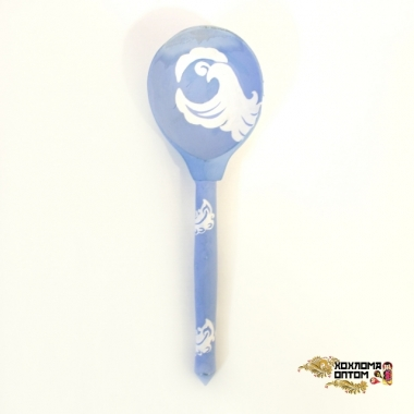 "Wooden spoon (sample with ""AMK"" painting)"