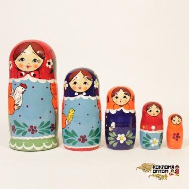 "Матрешка ""Загорская"" 5 кукольная"