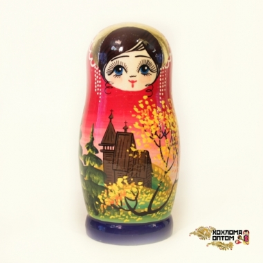 "Matryoshka ""Temple"" (5 dolls)"