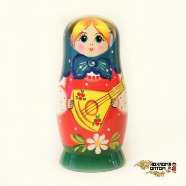 "Matryoshka ""Balalaika"" (5 dolls)"