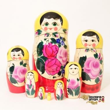 Матрешка традиционная 8 кукольная