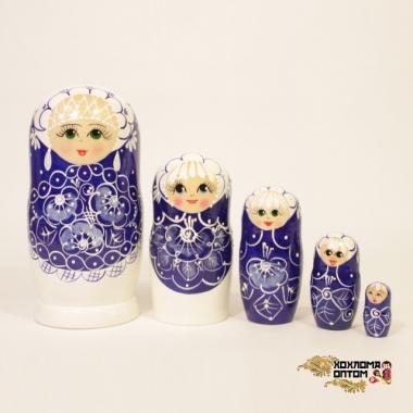 """Матрешка """"Жемчужина"""" 5 кукольная"""