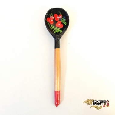 "Wooden teaspoon  ""Blackie"""