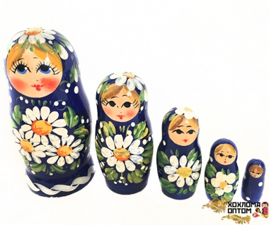 "Matryoshka ""Meadow"" (5 dolls)"