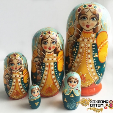"Matryoshka ""Plot"" (5 dolls)"
