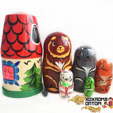 "Matryoshka ""Mansion"" (7 dolls)"