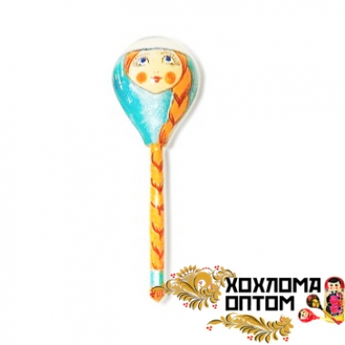 "Wooden tablespoon  ""Snow Maiden"""