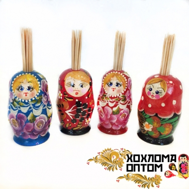"Toothpick box ""Matryoshka"""