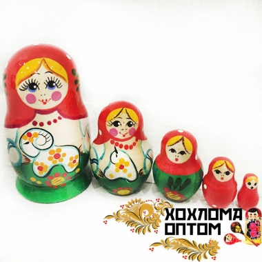 "Matryoshka ""Lamb"" (5 dolls)"