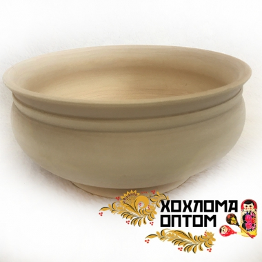 "Bowl ""Big"" without painting"