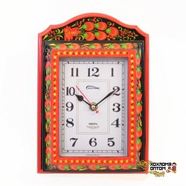 """Часы ключницы сувенирные """"Хохломские"""""""