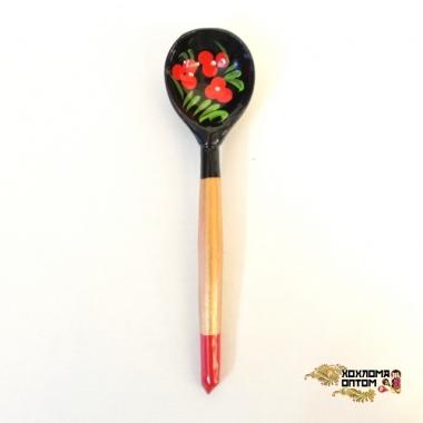 """Wooden teaspoon  """"Blackie"""""""