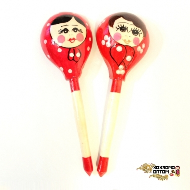 """Wooden tablespoon  """"Russian doll"""""""