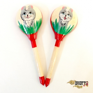"""Wooden tablespoon  """"Hare"""""""