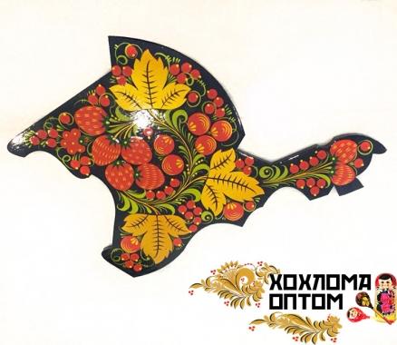 """Cutting board """"Khokhloma Crimea"""""""
