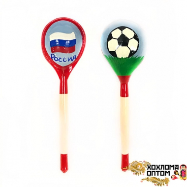 "Wooden tablespoon ""Footbal"""