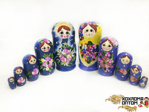 """Матрешка """"Майдан оригинальный"""" 5 кукольная"""