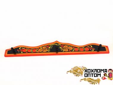 """Hook for cutting boards """"Khokhloma"""""""