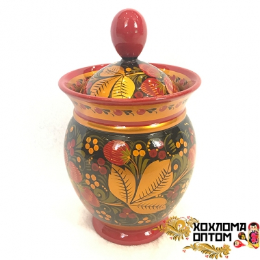 "Vase ""Khokhloma"""