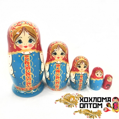 "Matryoshka ""Sundress"" (5 dolls)"